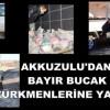 Türkmenlerden Türkmenlere Kardeşlik Yardımı