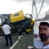 TIR Şoförü Mustafa Demir Köprüde Hayatını Kaybetti