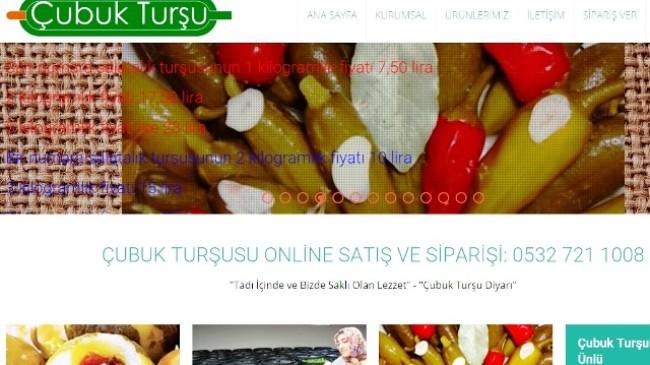 Ankara Çubuk Turşu Satışı Başladı