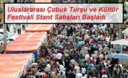 Uluslararasi cubuk Tursu ve Kultur Festivali stant