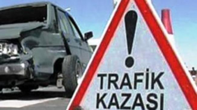 Akkuzulu'da Kaza; 2 Yaralı