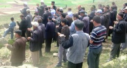 Akkuzulu'da Yağmur Duası Yapıldı