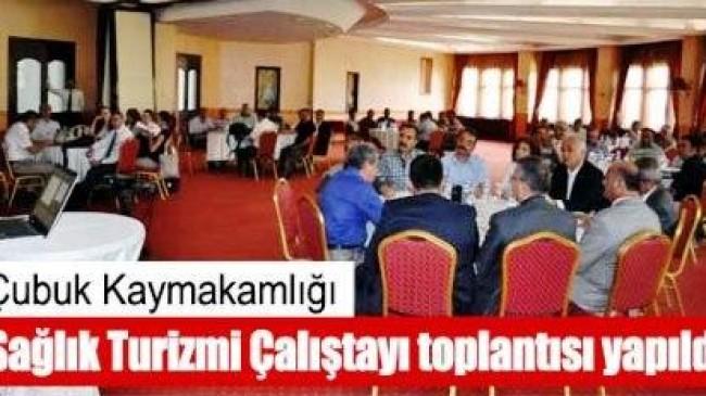 Ankara Sağlık Turizmi Çalıştayı Yapıldı