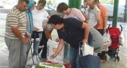Çubuklu Üreticiler Ayrancı Pazarında