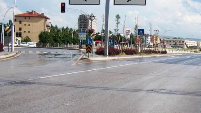 Ankara Çubuk Yolundaki Lambalara Sürücüler Tepkili