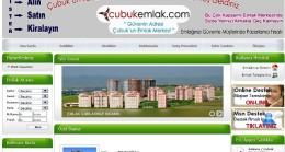 Çubuk Emlak Sitesi Açıldı