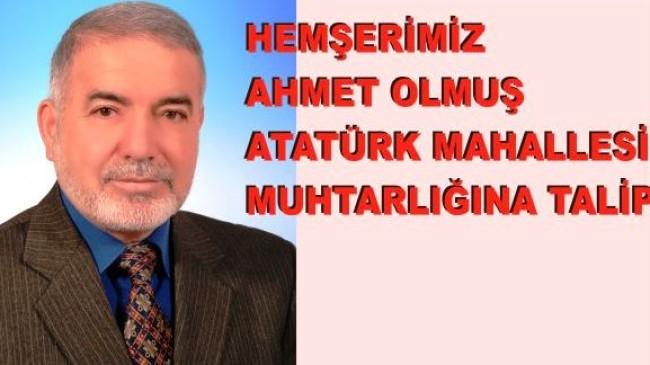 Hemşerimiz Atatürk Mahallesine Talip