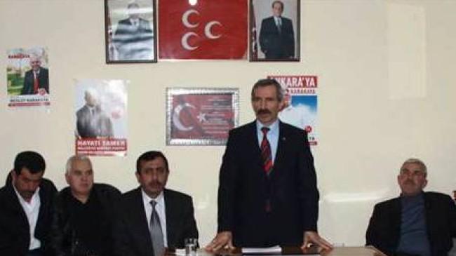 MHP Çubuk'ta Kan Kaybı