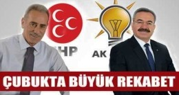 MHP Çubuk'ta Sandığı Gösterdi
