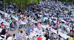 Çubuk'ta Halk İftarı