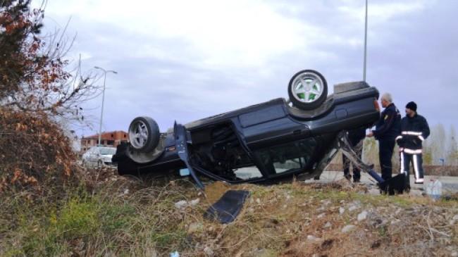 Çubuk'ta Trafik Kazası: 2 Yaralı