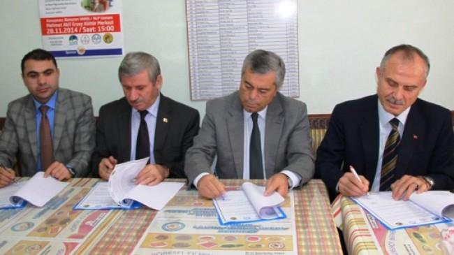 Çubuk'ta Protokolü İmzalandı