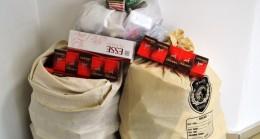 115 Karton Kaçak Sigara Yakalandı