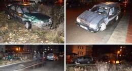 Sanayi Yolunda Trafik Kazası: 5 Yaralı