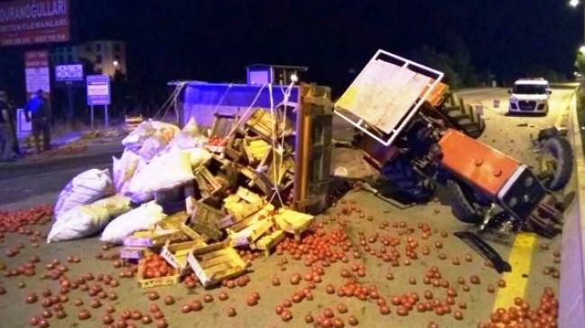 Kavşakta Trafik Kazası: 4 Yaralı